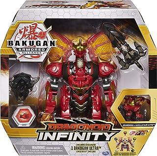 BAKUGAN ARMORED ALLIANCE – DRAGONOID INFINITY – Figurine Articulée Dragonoid Avec Accessoires et Bille Bakugan– 6058342 – ...