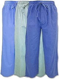 Boys Woven Jog Pants/Light Weight Drawstring Pants - 3 Pack