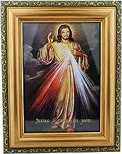 Beautiful Framed Divine Mercy Print - 7