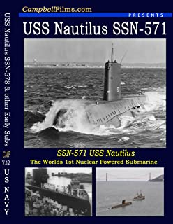 Navy USS Nautilus SSN-571 Submarine old Films North Pole and other Nuclear Submarine DVD
