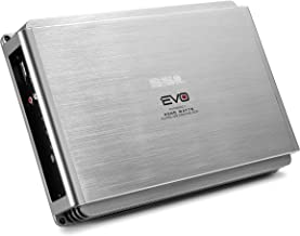 Sound Storm EVO2500.1 EVO 2500 Watt, 2 Ohm Stable Class A/B, Monoblock, MOSFET Car Amplifier with Remote Subwoofer Control