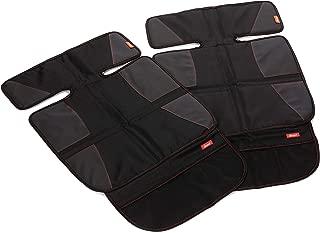 Diono Two2Go Car Seat Protector Super Mat, 2-pk, Black