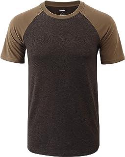 Mens Soft Breathable Tagless Athletic Outdoor Hiking Baseball T-Shirts