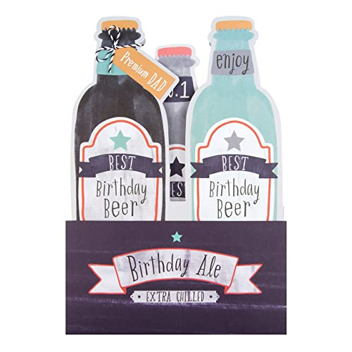 Hallmark Dad Birthday Card Premium Beer