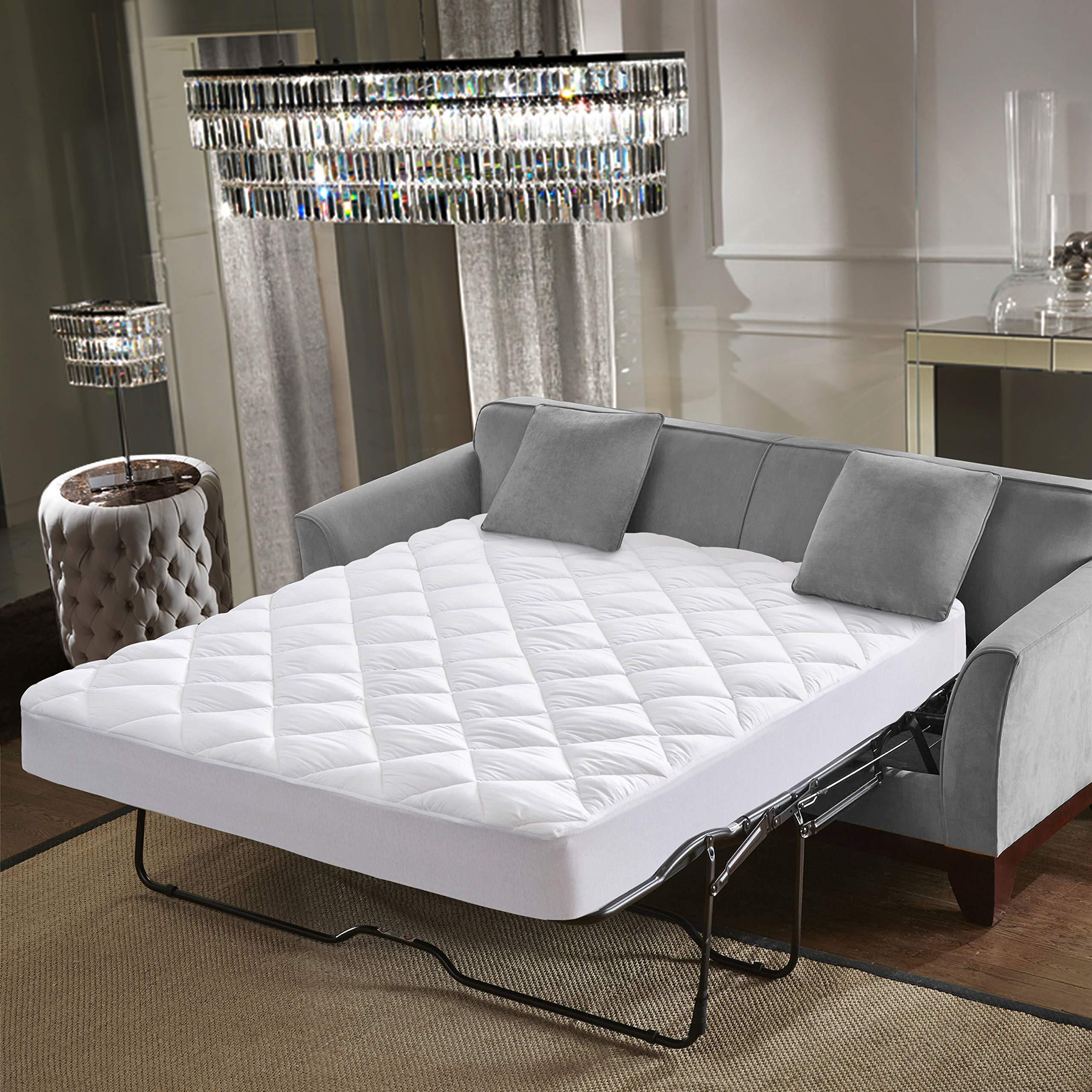 mattress topper sleeper sofa amazon com rh amazon com best mattress topper for sofa sleeper memory foam mattress topper for sofa bed
