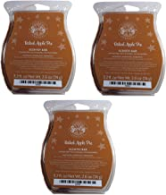 Scentsy Baked Apple Pie Wickless Candle Tart Warmer Wax, 3.2 Fl oz (3-Pack, 7.25 A Pack)