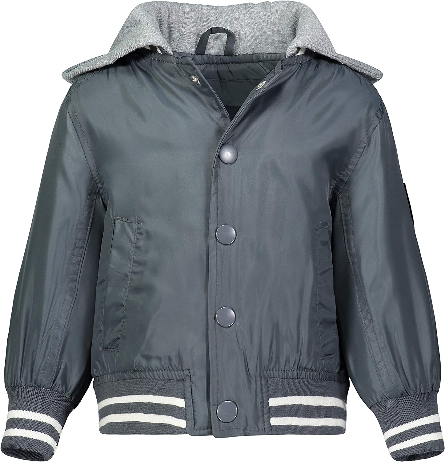 LONDON Spring new work one after another FOG boys Quilted With OFFicial Bomber Jacket Hood