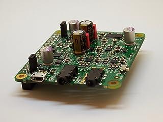 AVIOT DACボード DAC01 Raspberry Pi 拡張 DDC DAC ヘッドホンアンプ パワーアンプ 対応 ネットワークプレーヤー ハイレゾ再生・バランス接続対応 ワンボードオーディオ 超小型 高音質 ラズベリーパイ ラズパイ