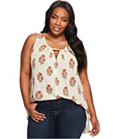 Lucky Brand - Plus Size Woodblock Tunic