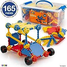 Play22 Building Toys For Kids 165 Set - STEM Educational Construction Toys - Building Blocks For Kids 3+ Best Toy Blocks G...