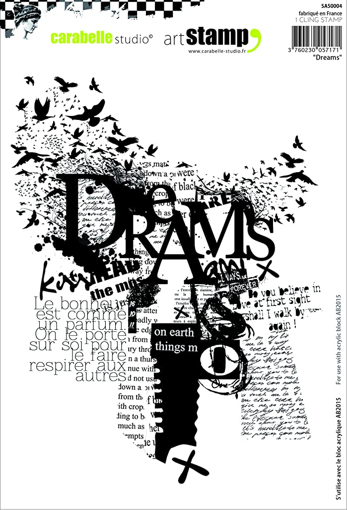 Carabelle Studio Cling Stamp A5-Dreams