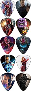 Marvel New Edition Guitar Picks (Comes 10 Superhero in a packet)