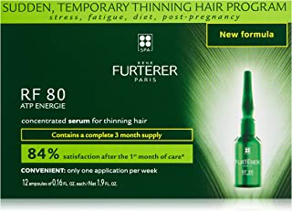Rene Furterer RF 80 ATP Energie Concentrated Serum, Sudden Temporary Thinning Hair, Drug Free
