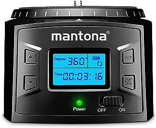Mantona Turnaround 360 Advanced 3 – elektryczna panorama statywu o 360 ° bezkońcowy obrót głowicy obrotowej do odliczania ...