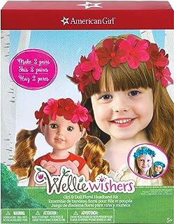 American Girl Girl & Doll Floral Headband Kit