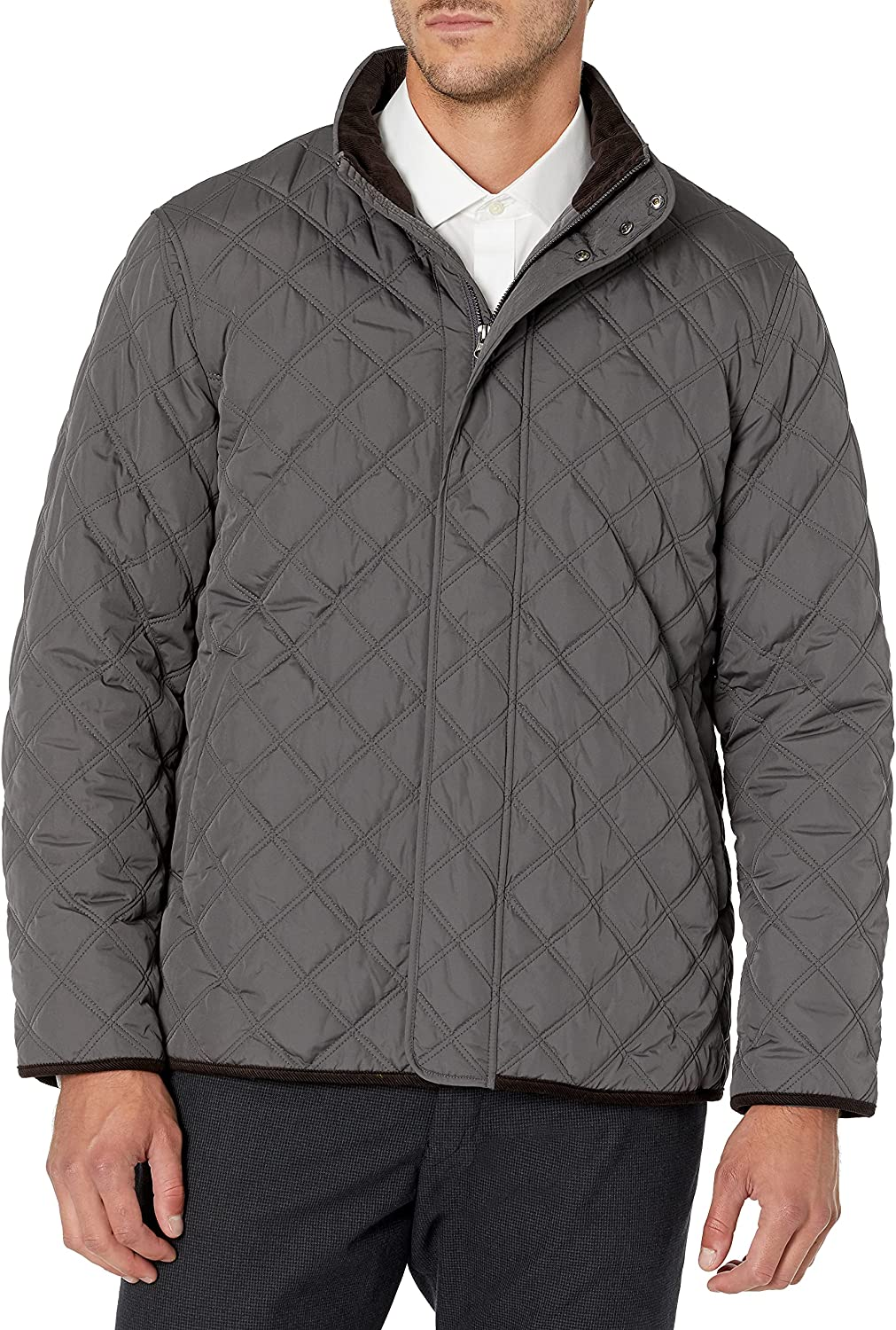Buttoned Down Men's Water Quilted Repellant Coat Car Fees free!! Ranking TOP10