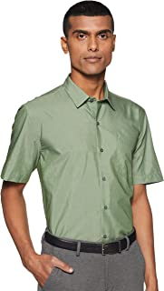 John Miller Men's Solid Slim Fit Formal Shirt