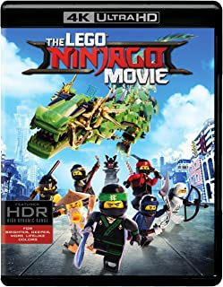 Lego Ninjago Movie, The (4K Ultra HD/BD)