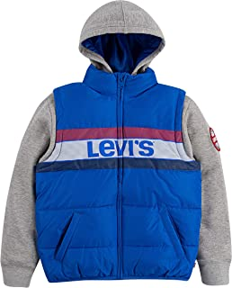 Boys' 2fer Puffer Jacket
