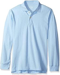 uniform blue shirt
