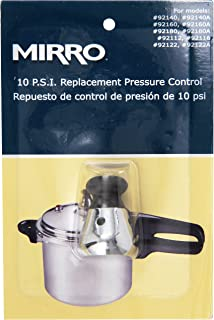 Mirro 92110 Stainless Steel Pressure Cooker and Canner Control, 10-PSI for Model 92140 92140A 92160 92160A 92180 92180A 92...