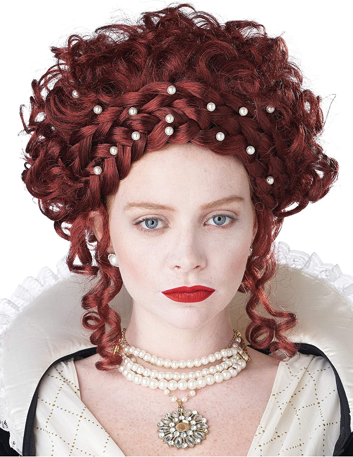 Manufacturer direct delivery California Costumes Elizabethan Wig Boston Mall for Women