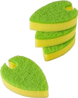 Evriholder 速干洗碗海绵,绿色/黄色