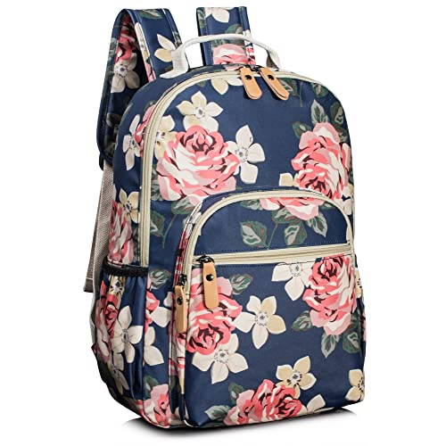 Leaper Floral School Backpack for Girls Travel Bag Bookbags for Women  Satchel a0f82ce98bf37