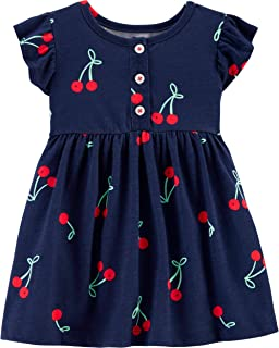 Baby Girls Red Buffalo Check Holiday Dress