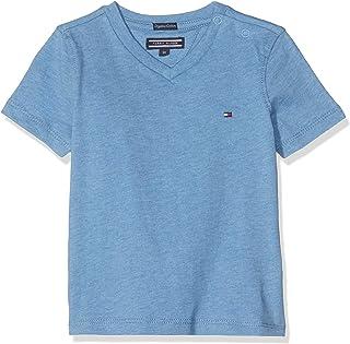Tommy Hilfiger Boys Basic VN Knit S/S Maglietta Bambino