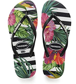 Havaianas Women's Slim Flip Flop Sandals, Tropical