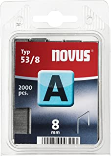Novus A 53Enemy Fine Wire Staples with 4mm Blister Packed with 2000Staples Type 53/4, 5000628102