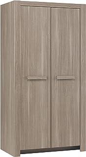 GAMI Armoire 2 Portes, Bois, 58 x 101 x 196 cm