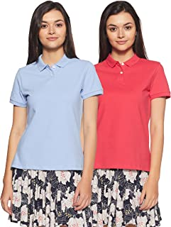Amazon Brand - Symbol Women's Regular Polo Shirt