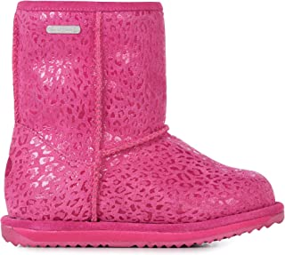 EMU Australia Leopard Brumby Kids Wool Waterproof Boots EMU Boots