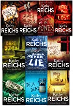 Kathy Reichs Temperance Brennan Collection 10 Books Set (Deja Dead, Death Du Jour, Bare Bones, Speaking in Bones, Bones to...