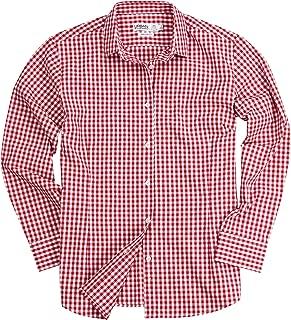 Urban Boundaries Gingham Plaid Checkered Shirt for Women
