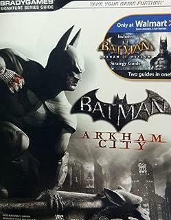 Batman: Arkham City / Includes Batman Arkham Asylum - Two Guides in One! (BradyGames Signature Series Guide) by Michael Lummis (2011-05-03)