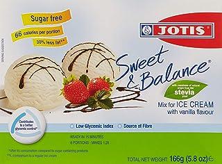 Jotis Sweet & Balance Ice Cream Vanilla, 166 gm