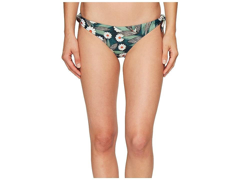 Mara Hoffman Daisy Tie Side Bottom (Dark Green) Women