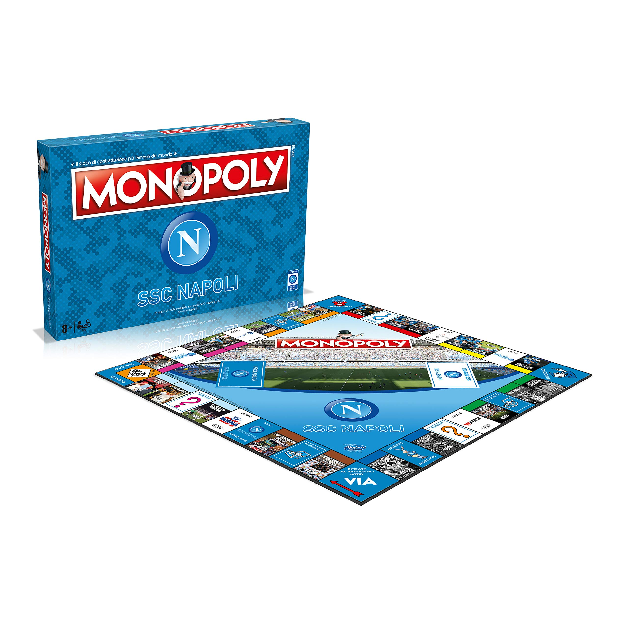 Winning Moves UK Limited - Monopoly SSC Napoli: Amazon.es: Juguetes y juegos