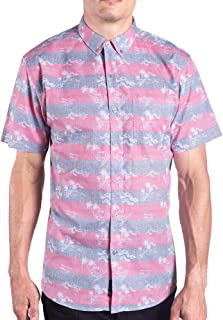 Sponsored Ad - Visive Hawaiian Shirts for Men Short Sleeve Button Down/Up Mens Shirt