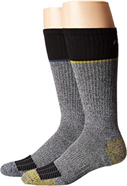 Force Performance Steel Toe Crew Socks 2-Pair