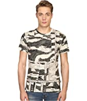Just Cavalli - Slim Fit Camowork Print T-Shirt