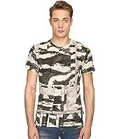 Just Cavalli - Slim Fit Camowork Print T-Shirt