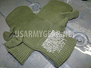 New US Army Military Wool Hunting Shooting Trigger Finger Mitten Insert Liners Cool Sniper Gloves USGI
