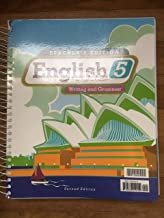 English 5 Teacher's Edition and Toolkit CD 2nd Edition
