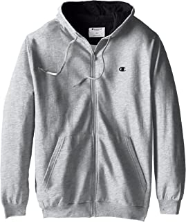Champion Men's Big & Tall Full-Zip Fleece Hooded Jacket