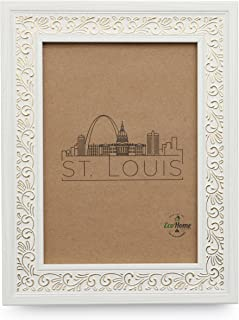 4x6 White Picture Frame - Mount Desktop Display, Frames by EcoHome