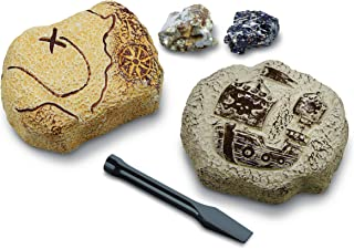 Discovery #MINDBLOWN Mini Unearthed Treasure Set, 2 Pack Excavation Kit w/ Chisel, App & Poster, Interactive Archaeology G...